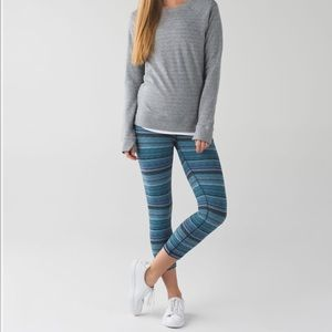 Lululemon Wunder Under Crop Hi-Rise Space Dye